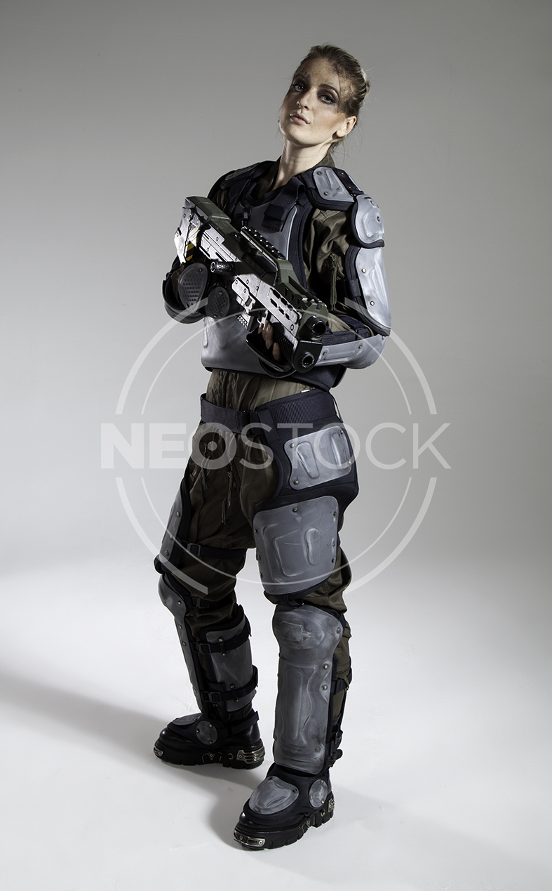 NeoStock - Pippa H Galactic Trooper Sci-Fi - Stock Photography IV