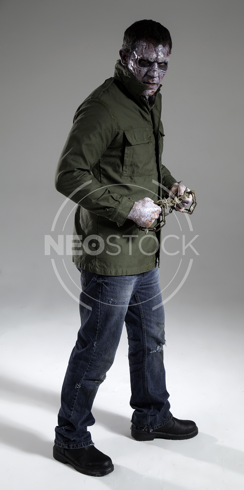 NeoStock - Lou 80s Slasher Horror - Stock Photography V