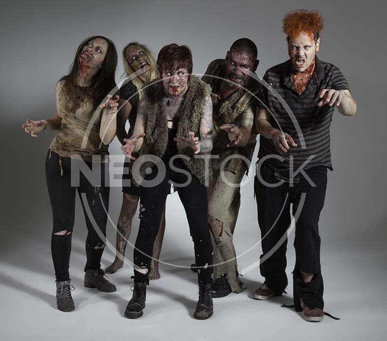 NeoStock - Zombie Groups & Horde - Stock Photography I