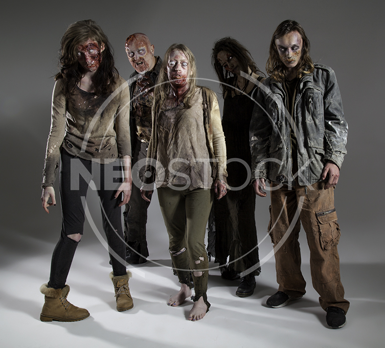 NeoStock - Zombie Groups & Horde - Stock Photography II
