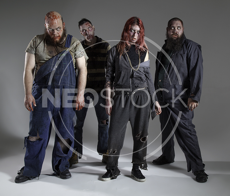 NeoStock - Zombie Groups & Horde - Stock Photography III
