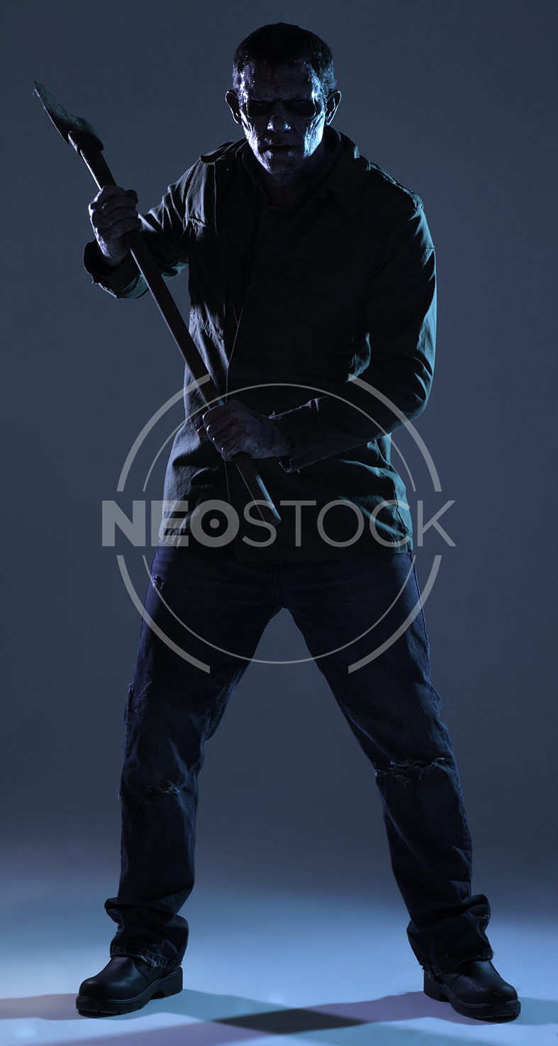 NeoStock - Lou 80s Slasher Horror - Stock Photography III