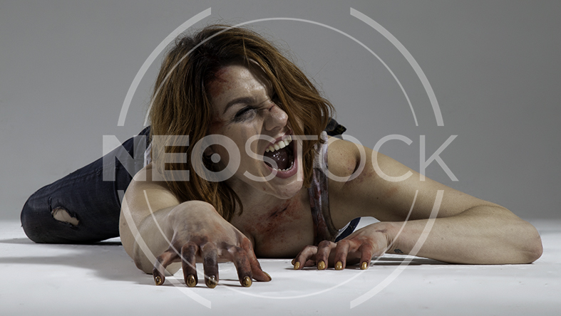 NeoStock - Mandy Final Girl Horror - Stock Photography IV