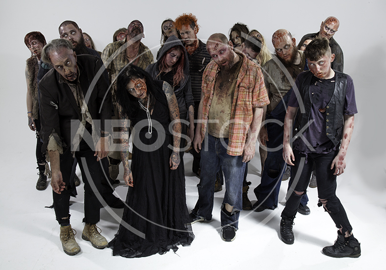 NeoStock - Zombie Groups & Horde - Stock Photography IV
