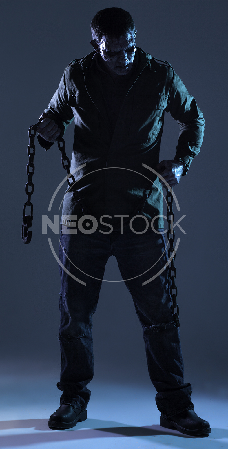 NeoStock - Lou 80s Slasher Horror - Stock Photography IV