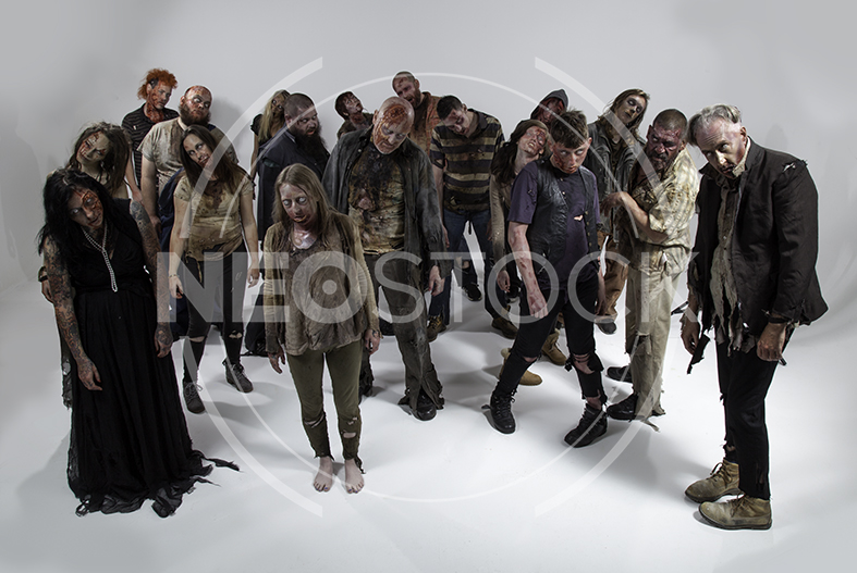 NeoStock - Zombie Groups & Horde - Stock Photography V