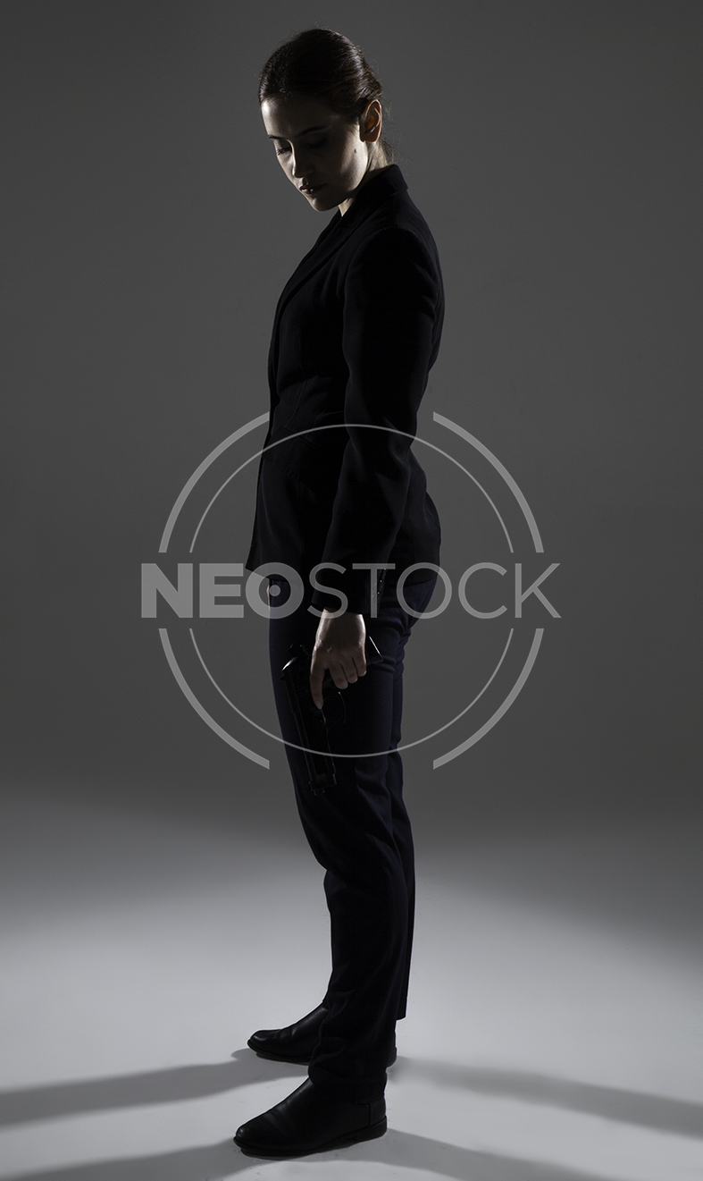 NeoStock - Emily Government Agent - Stock Photography I
