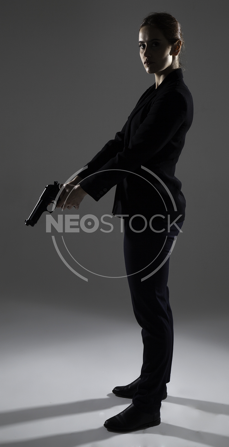 NeoStock - Emily Government Agent - Stock Photography V