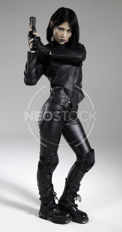 NeoStock - Yuu Cyberpunk Agent - Stock Photography III