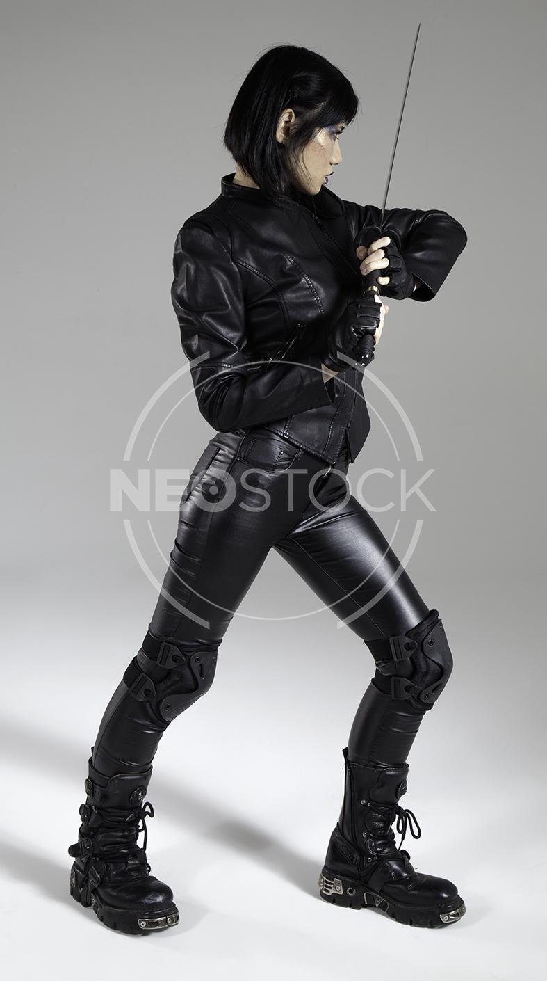 NeoStock - Yuu Cyberpunk Agent - Stock Photography V
