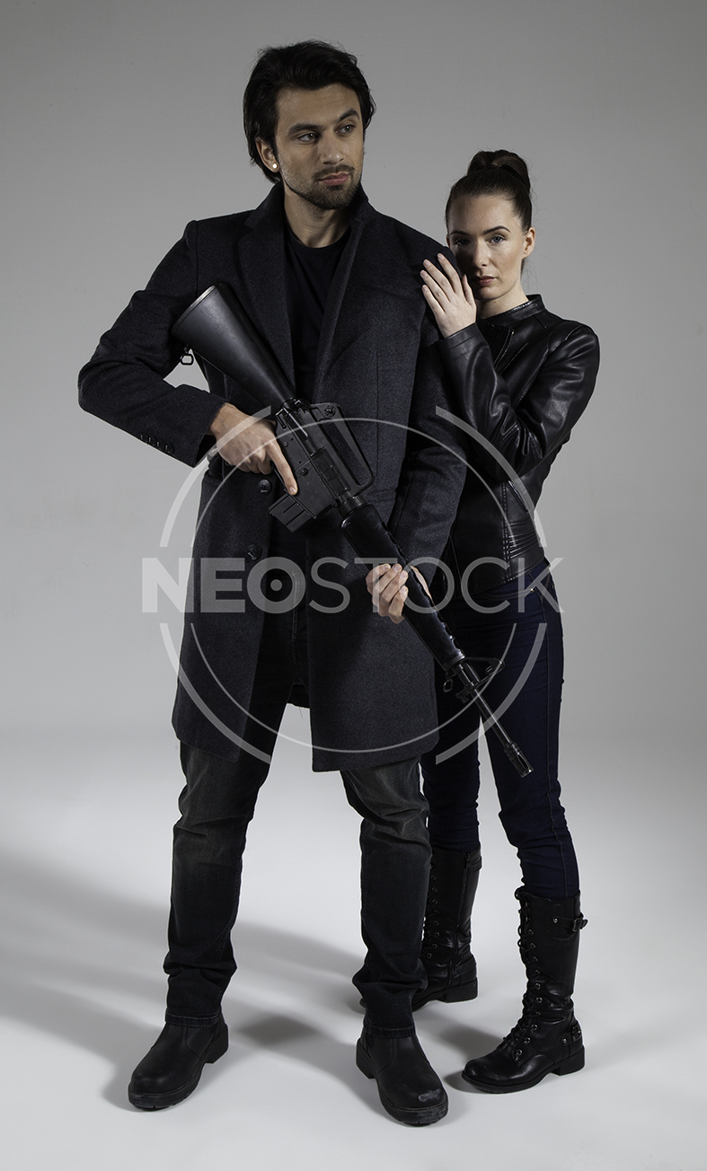 NeoStock - Action Thriller Couple - Stock Photography V