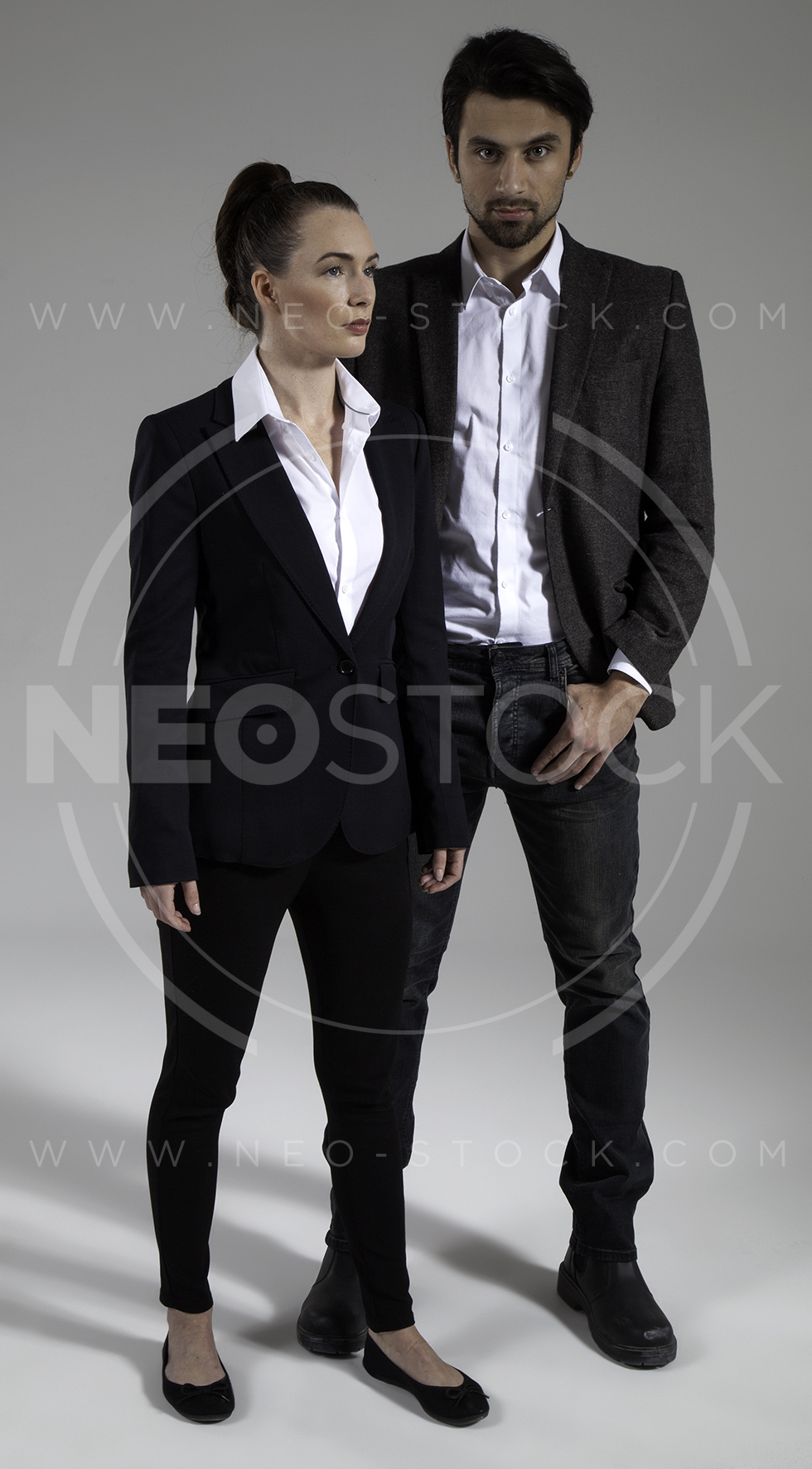 NeoStock - Cop Drama Duo - Stock Photography V