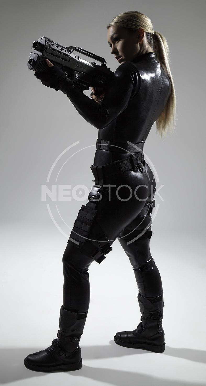 NeoStock - Emily H Galactic Cadet - Stock Photography I