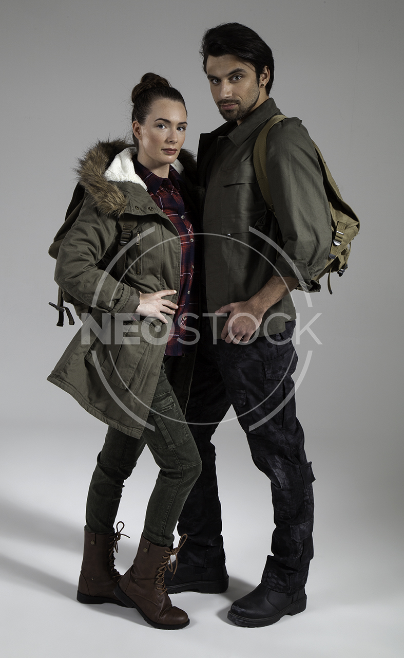 NeoStock - Post Apoc Couple - Stock Photography V