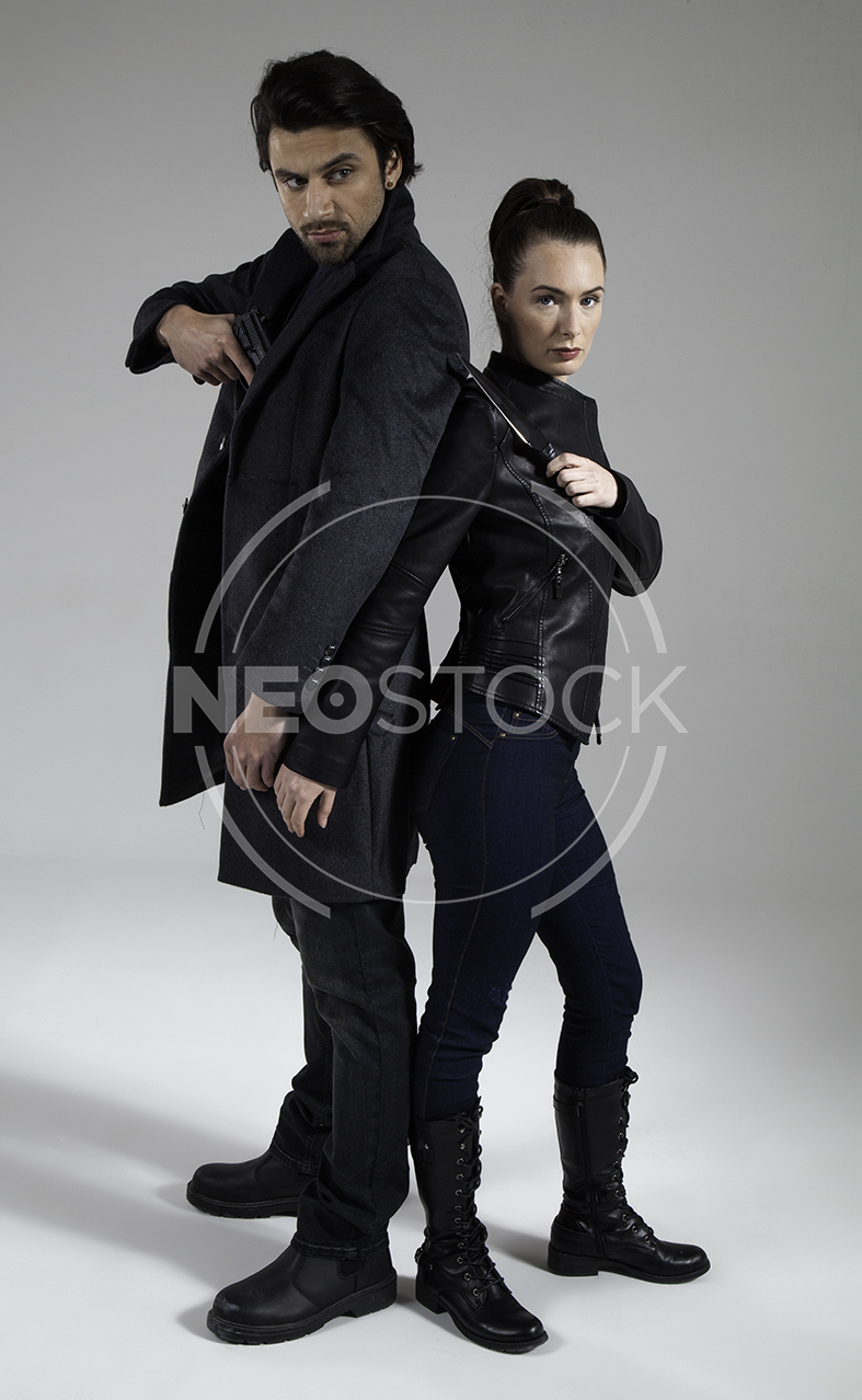 NeoStock - Action Thriller Couple - Stock Photography IV