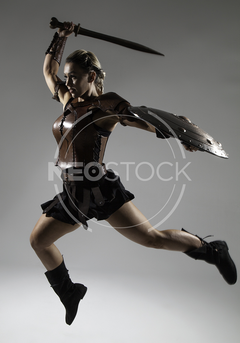 NeoStock - Emily H Amazon Warrior Woman - Stock Photography IV