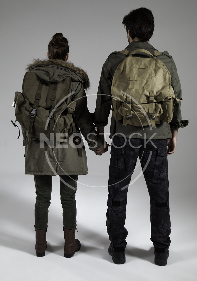 NeoStock - Post Apoc Couple - Stock Photography IV
