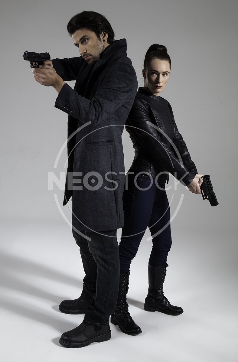 NeoStock - Action Thriller Couple - Stock Photography III