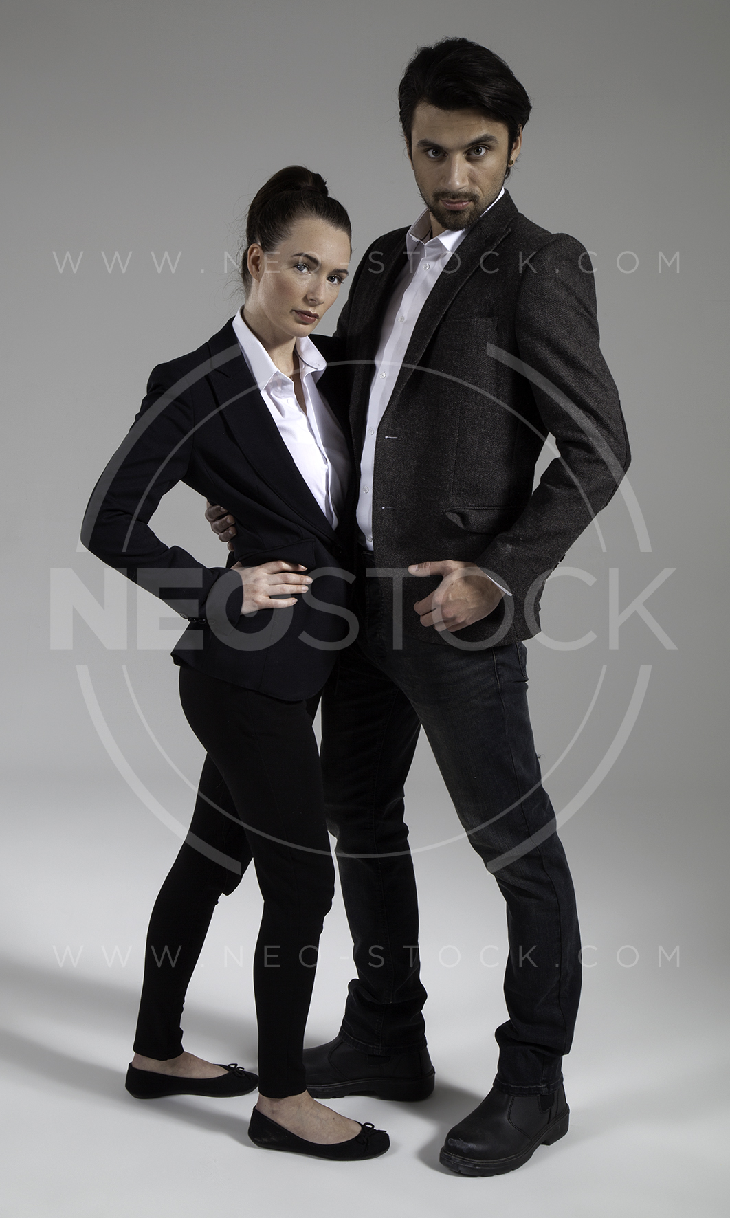 NeoStock - Cop Drama Duo - Stock Photography III