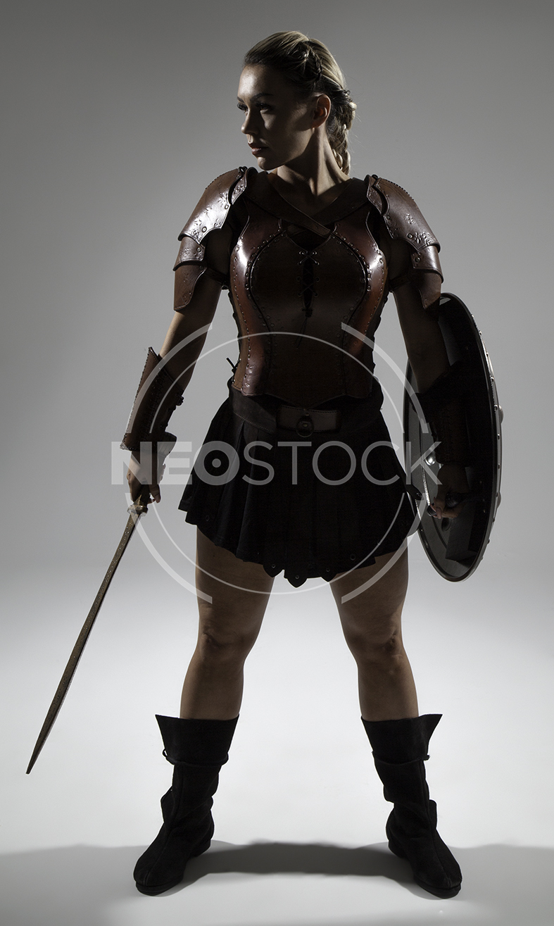 NeoStock - Emily H Amazon Warrior Woman - Stock Photography III