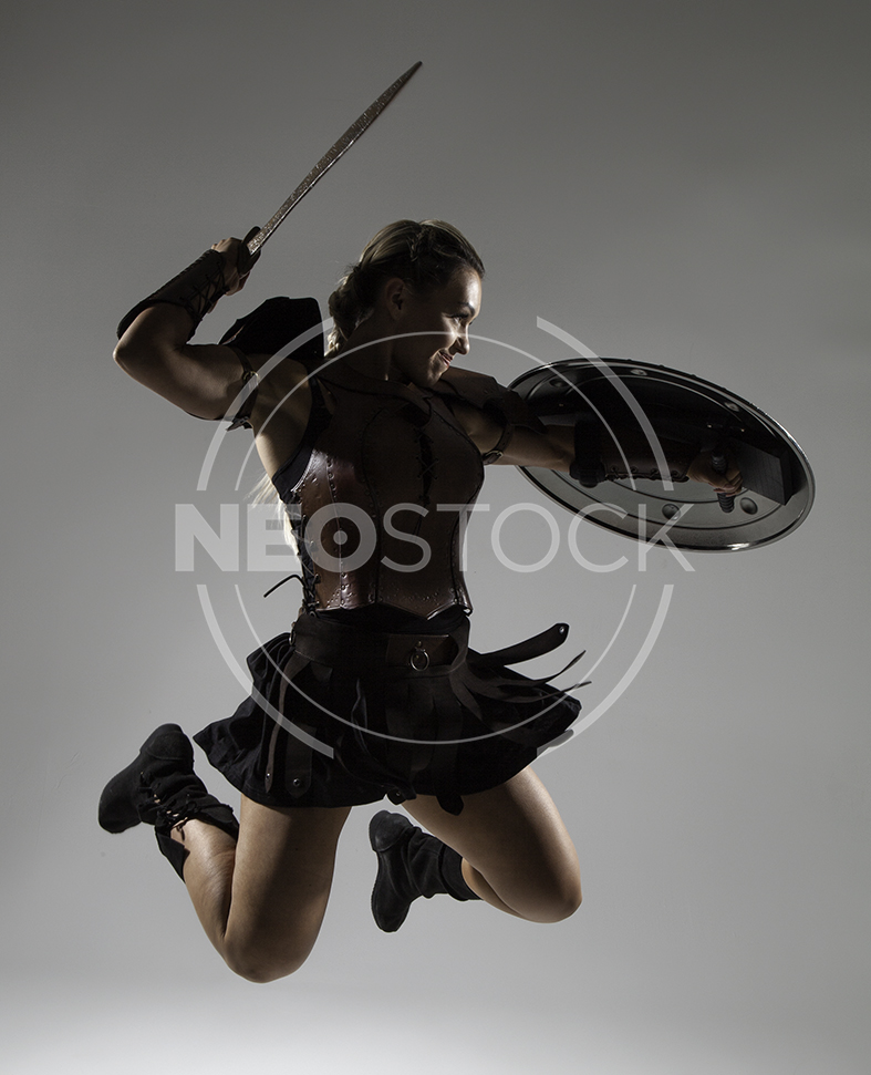 NeoStock - Emily H Amazon Warrior Woman - Stock Photography II