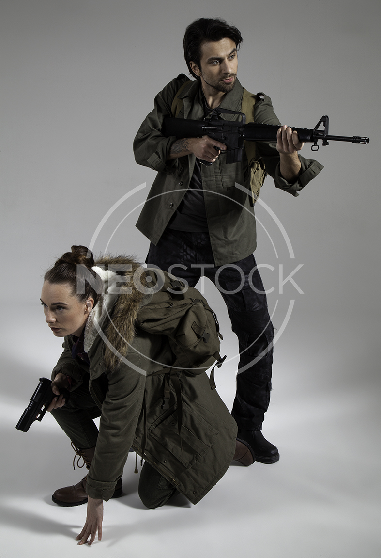 NeoStock - Post Apoc Couple - Stock Photography II