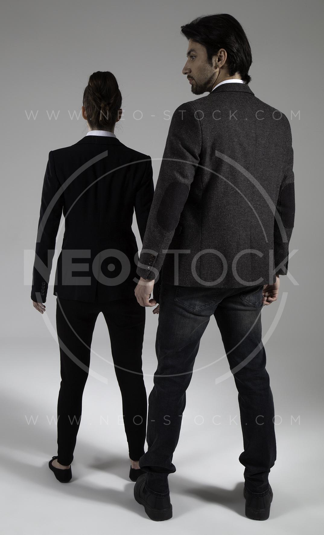 NeoStock - Cop Drama Duo - Stock Photography I