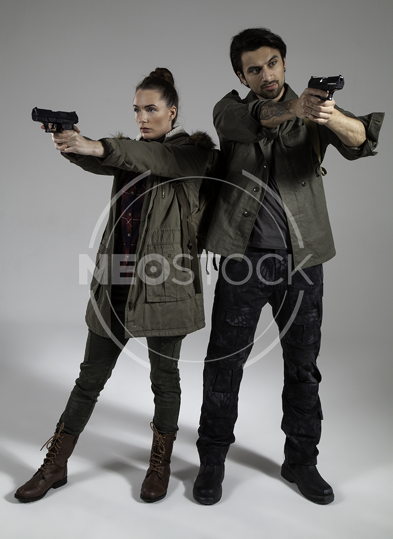 NeoStock - Post Apoc Couple - Stock Photography I