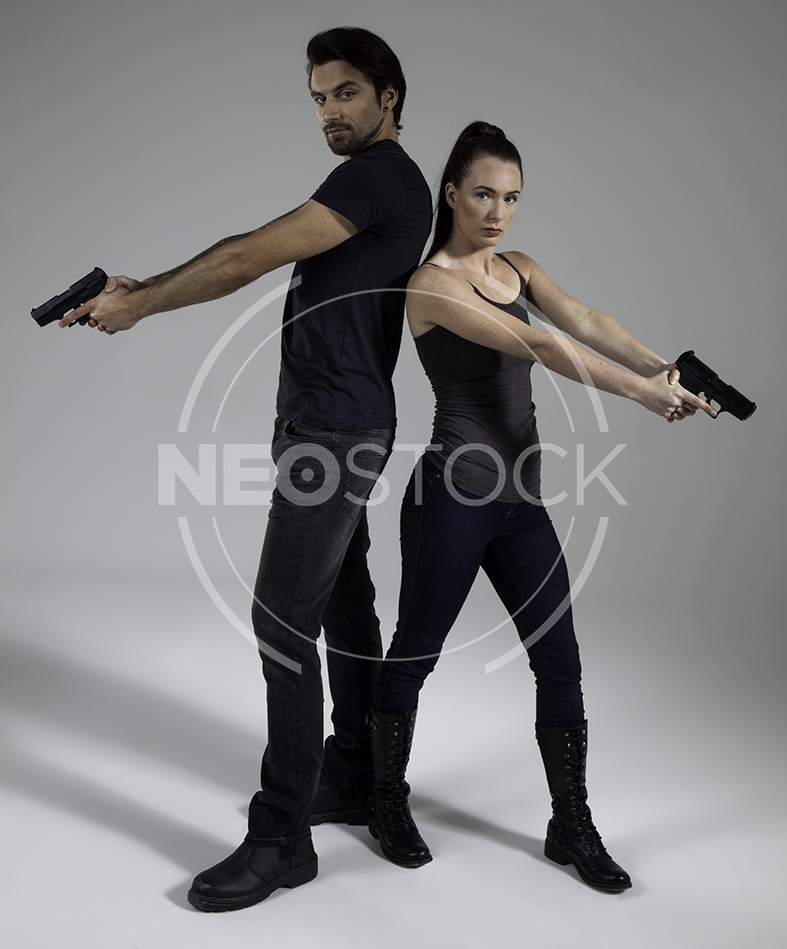 NeoStock - Urban Fantasy Couple - Stock Photography IV
